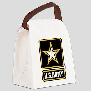 U.S. Army Logo Canvas Lunch Bag