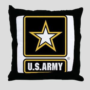 U.S. Army Logo Throw Pillow