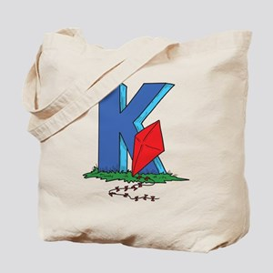 K For Kite Tote Bag