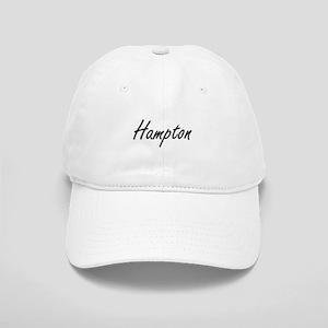 Hampton surname artistic design Cap