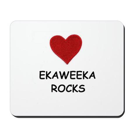EKAWEEKA ROCKS Mousepad