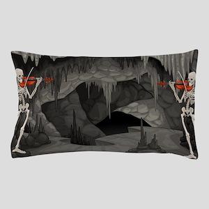 skeleton violin Pillow Case