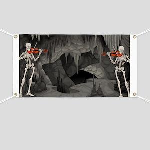 skeleton violin Banner