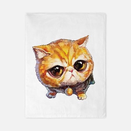 Get your Crazy CAT lady Twin Duvet