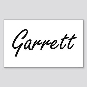 Garrett surname artistic design Sticker
