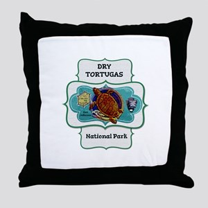 Drytortugas Throw Pillow