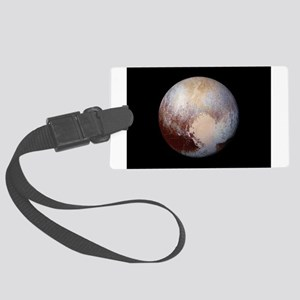 PLUTO HEART Large Luggage Tag