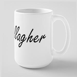Gallagher surname artistic design Mugs