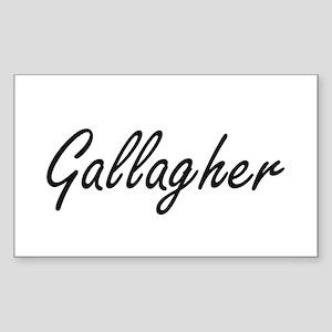 Gallagher surname artistic design Sticker