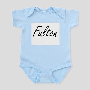 Fulton surname artistic design Body Suit