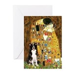 The Kiss & Border Collie Greeting Cards (Pk of 20)