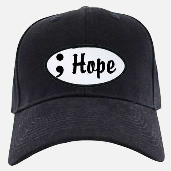 Hope Semicolon Baseball Hat