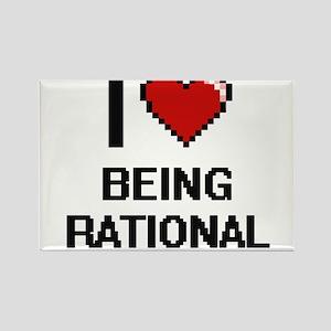 I Love Being Rational Digitial Design Magnets