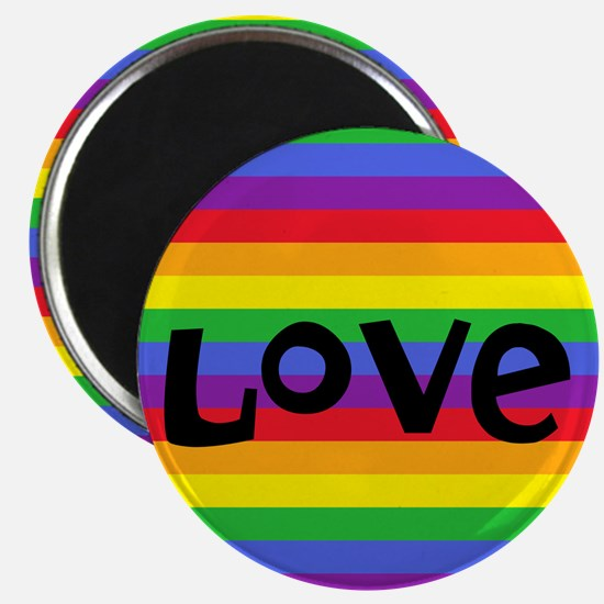 love rainbow accessories Magnets