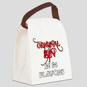 ORIGINAL SIN Canvas Lunch Bag