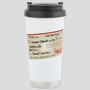 Paid in Full Stainless Steel Travel Mug