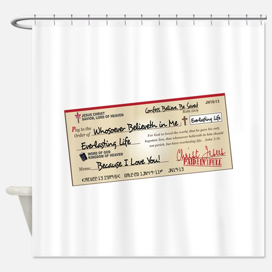 Paid in Full Shower Curtain