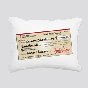 Paid in Full Rectangular Canvas Pillow