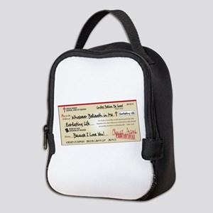 Paid in Full Neoprene Lunch Bag