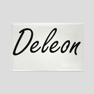 Deleon surname artistic design Magnets