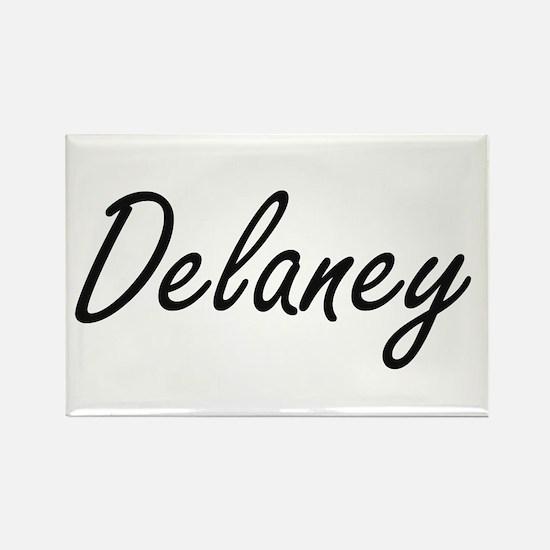 Delaney surname artistic design Magnets