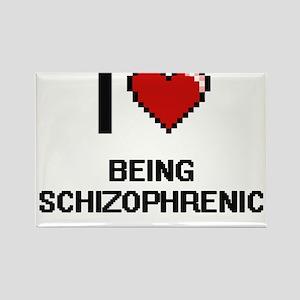 I Love Being Schizophrenic Digitial Design Magnets