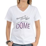 Under the Dome - No Place Women's V-Neck T-Shirt