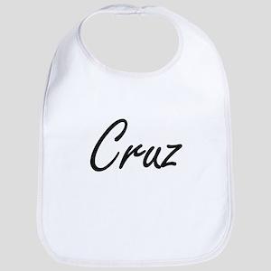 Cruz surname artistic design Bib