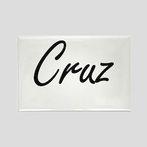 Cruz surname artistic design Magnets