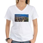 Greater Quebec Area Women's V-Neck T-Shirt