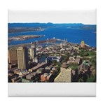 Greater Quebec Area Tile Coaster