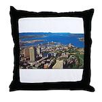 Greater Quebec Area Throw Pillow