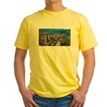 Greater Quebec Area with Sign Yellow T-Shirt