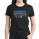Greater Quebec Area with Sign Women's Dark T-Shirt