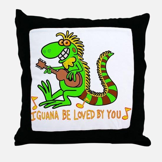 Cute Git Throw Pillow