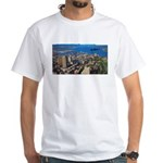 Greater Quebec Area with Sign White T-Shirt