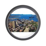 Greater Quebec Area with Sign Wall Clock