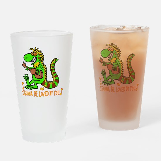 Cute Git Drinking Glass