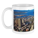 Greater Quebec Area with Sign Mug