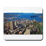 Greater Quebec Area with Sign Mousepad