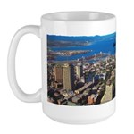 Greater Quebec Area with Sign Large Mug