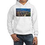 Greater Quebec Area with Sign Hooded Sweatshirt