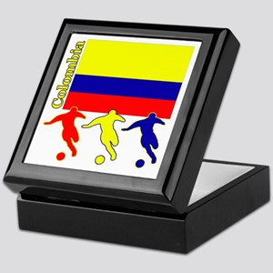 Colombia Soccer Keepsake Box