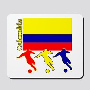 Colombia Soccer Mousepad