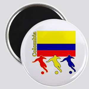 """Colombia Soccer 2.25"""" Magnet (10 pack)"""