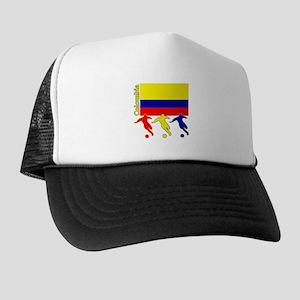 Colombia Soccer Trucker Hat