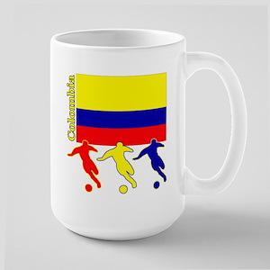 Colombia Soccer Large Mug