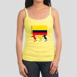 Colombia Soccer Jr. Spaghetti Tank