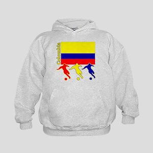 Colombia Soccer Kids Hoodie