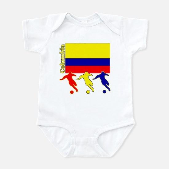 Colombia Soccer Infant Bodysuit